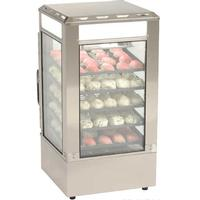 Antunes SDC500 Steamer Display Cabinet Steams PreCooked Food Five Shelves Adjustable Thermostat