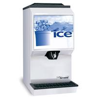SerVend M90 Ice Dispenser Countertop 90 lb Capacity Manual Fill Ice Maker Not Included