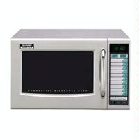 Sharp R21LVF Microwave Oven Medium Duty 10 Programmable TouchPads 1000 Watts