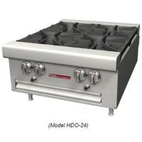 Southbend HDO12 Hotplate Countertop Gas 2 Burners 33000 BTU Each Manual Controls