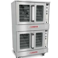 Southbend GB25SC Convection Oven Gas Double Deck Deep Depth 90000 BTU Per Deck Solid State Controls Marathoner Gold Series
