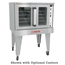 Southbend SLEB10SC Convection Oven Electric Single Deck Solid State Controls Bakery Depth Silverstar Series