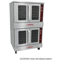 Southbend SLGS22SC Convection Oven Gas Double Deck Solid State Controls 72000 BTU per deck SilverStar Series