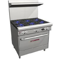 Southbend 4361A Range 36 Wide 6 Burners 33000 BTU With Convection Oven 32000 BTU Ultimate Series