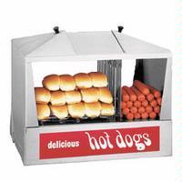 Star Mfg 35SSC Hot Dog Steamer 130 Hot Dogs and 3040 Bun Capacity Classic Steamro Jr Series