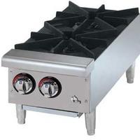Star Mfg 602HF Hotplate Countertop Gas 2 Burners 25000 BTU Each StarMax Series