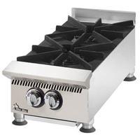 Star Mfg 802HA Hotplate Countertop Gas 2 Burner 30000 BTU HEAVY DUTY UltraMax Series