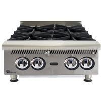 Star Mfg 804HA Hotplate Countertop Gas 4 Burner 30000 BTU HEAVY DUTY UltraMax Series