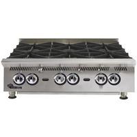 Star Mfg 806HA Hotplate Countertop Gas 6 Burner HEAVY DUTY UltraMax Series