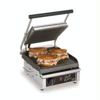 Star Mfg GX10IS Sandwich Grill Electric Two sided Grill 10 Smooth Iron Grill Plates Thermostatic Control Grill Express Series