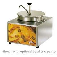 Star Mfg 11WLAP Nacho Cheese Warmer With Pump Lighted Countertop 11 Qt Capacity Base Unit Only Bowls Pumps Ladles Sold Separately