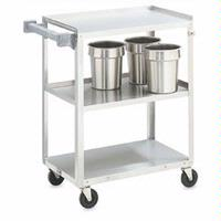 Vollrath 97121 Utility Cart 300lb capacity stainless steel 17 34x27