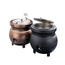 Vollrath 72176 Soup Kettle Warmer Rethermalizer Electric 11 Quart With Inset Cover Copper Color Colonial Kettle Series