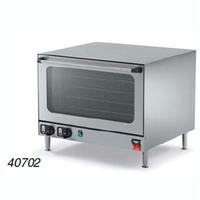 Vollrath 40702 Convection Oven Countertop Electric Fits 4 Full Size Pans Steam Injector