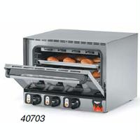 Vollrath 40701 Convection Oven Countertop Half Size Electric Fits 4 Half Size Pans Prima Pro Cayenne Series