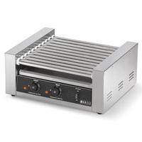 Vollrath 40821 Hot Dog Grill 7 Rollers 18 Dog Capacity