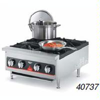 Vollrath 40737 Hotplate Countertop Gas 4 Burners 26000 BTU Each Cayenne Series