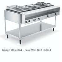 Vollrath 38005 Hot Food Table 5 Wells 480 Watts per Pan ServeWell Series