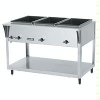 Vollrath 38203 Hot Food Table 3 Wells 4612 Length Electric ServeWell SL Series