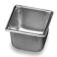 Vollrath 30642 Food Pan OneSixth Size 678 x 678 x 4 Deep Stainless Steel Priced Each Sold in Cases of 18 Super Pan V Series