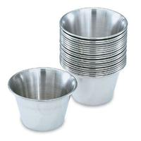 Vollrath 46713 Sauce Cup 3 Oz 2916 Top Diameter Stainless Steel Priced Each Sold in Case of 4 Dozen