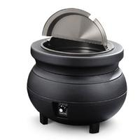 Vollrath 72165 Kettle Colonial Electric 11 Quart Cover with Hinge 1534 Diameter Black Cayenne Series