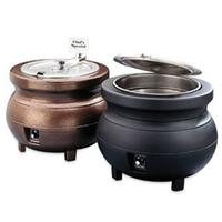 Vollrath 72171 Kettle Colonial Electric 7 Quart Cover with Hinge 1534 Diameter Copper Cayenne Series