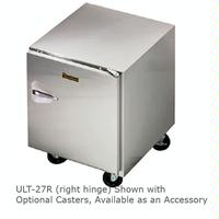 Traulsen ULT27L Undercounter Freezer One Door Hinged Left 27 Wide 6 Adjustable Legs Dealers Choice