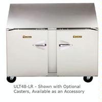 Traulsen ULT48LR Undercounter Freezer Two Doors 48 Wide 6 Adjustable Legs Dealers Choice Series
