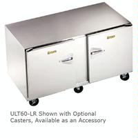 Traulsen ULT60LR Undercounter Freezer Two Doors 60 Wide 6 Adjustable Legs Dealers Choice