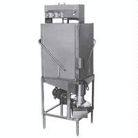 CMA Dishmachines SC Pot and Pan Dishwasher Door Type 40 Racks Per Hour Corner Unit Low Temp Chemical Sanitizing