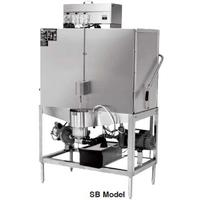 CMA Dishmachines SB Pot and Pan Dishwasher Door Type 80 Racks Per Hour Low Temp Chemical Sanitizing