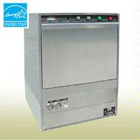 CMA Dishmachines UC65E Dishwasher Undercounter Dishwasher and Glasswasher 30 Racks per Hour High Temp with Booster Heater