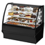 True TDMR48GEGEBW Bakery Case Refrigerated TiltOut Curved Glass 4814 Length x 48 H