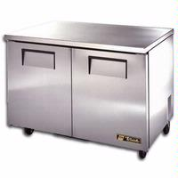 True Food Service Equipment TUC48 Undercounter Refrigerator 2 Doors 48 38 Wide