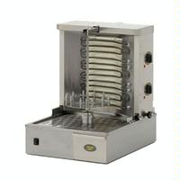 Equipex GR40E Vertical Broiler Grill Countertop Electric 33 Lb Meat Capacity 2 Heating Zones