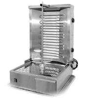 Equipex GR60E Vertical Broiler Grill Countertop Electric 55 Lb Meat Capacity 2 Heating Zones 4 Heating Elements