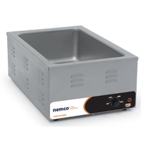 Nemco 6055A Food Warmer Countertop Electric Supports Full Size 12 x 20 Pan Size