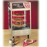 Nemco 6451 Display Cabinet Heated Hot Food 3 Tier Revolving 18 Pizza Rack Humidified 2214 x 2214 x 3378H