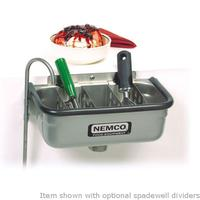 Nemco 7731613 Ice Cream Spade Cleaning Well 13 Divider Sold Separately