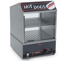 Nemco 8301 Hot Dog Steamer 150 Hot Dogs 30 Bun Capacity RollAGrill Series
