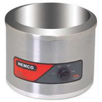 Nemco 6101A Food Warmer Countertop Round 11 Qt Capacity Inset Sold Separately