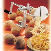 Nemco 55050AN Spiral Fry Potato Cutter Mounts on Flat Surface Preset Drive Depth