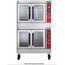 Vulcan SG44 Convection Oven Gas Double Deck 60000 BTU per Deck Solid State Controls