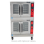 Vulcan VC44GD Convection Oven Gas Double Deck 50000 BTU per Deck Solid State Controls