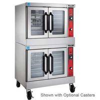 Vulcan VC66GD Convection Oven Gas Double Deck Bakery Depth 50000 BTU per Deck Solid State Controls