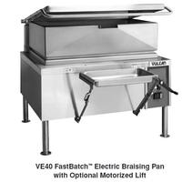 Vulcan VE40 Braising Pan Electric 40 Gallon Manual Tilt