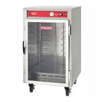 Vulcan VHFA9 NonInsulated Heated Holding and Transport Cabinet Up to 190 Degrees F Fixed Rack Holds 9 18 x 26 x 1 Deep or 18 12 x 20 x 212 Deep Pans Casters
