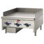 Wells HDG3630G Griddle Countertop Gas 36 Length 30000 BTU Every 12 34 Thick Plate Manual Control