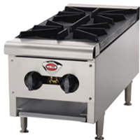 Wells HDHP1230G Hot Plate 2 26000 BTU Burners Gas
